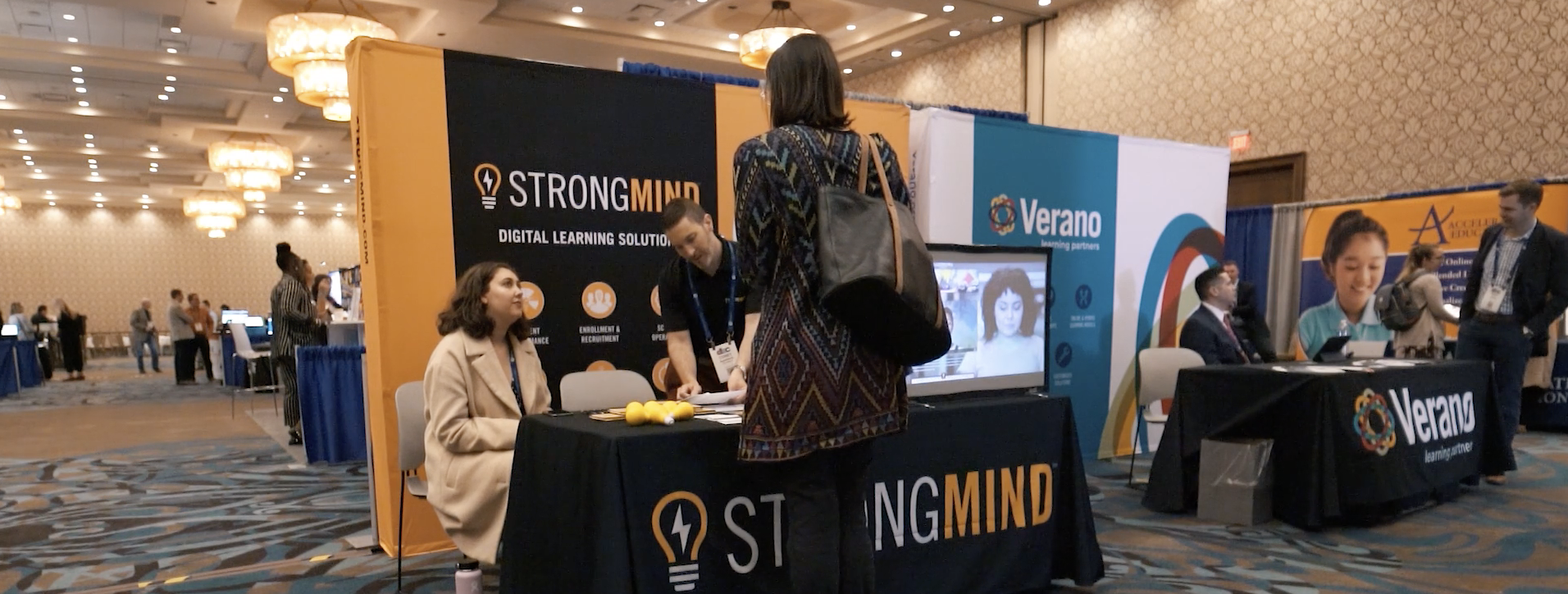 Strongmind Booth
